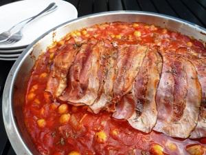 Meatloaf (gehaktbrood) naar recept van Jamie Oliver. Lekker!