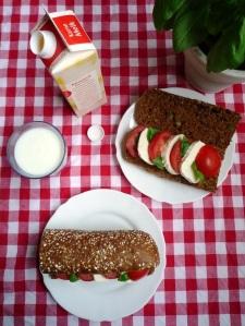Broodje Tomaat-Mozzarella